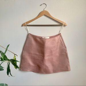 MARNI - Tech-Silk A-Line Skirt